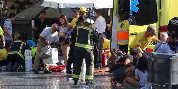 теракт Барселона