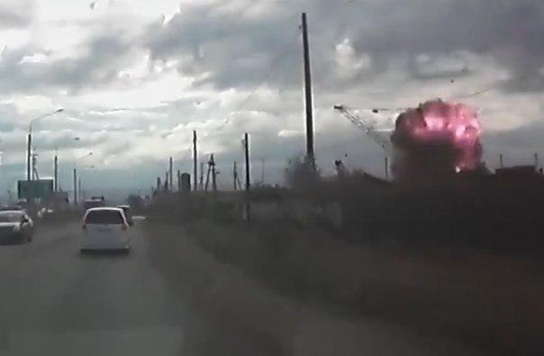 взрыв в Чите