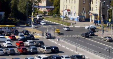 В Мытищах автомобиль сбил семерых
