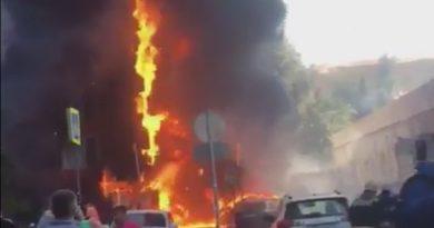 пожар Ростов гостиница