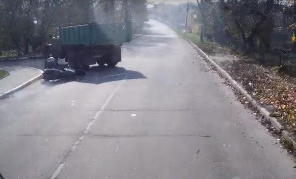 ДТП байкер Украина