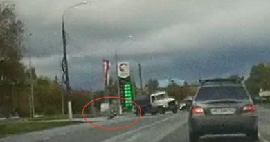 Ассенизатор ГАЗ снес пешехода