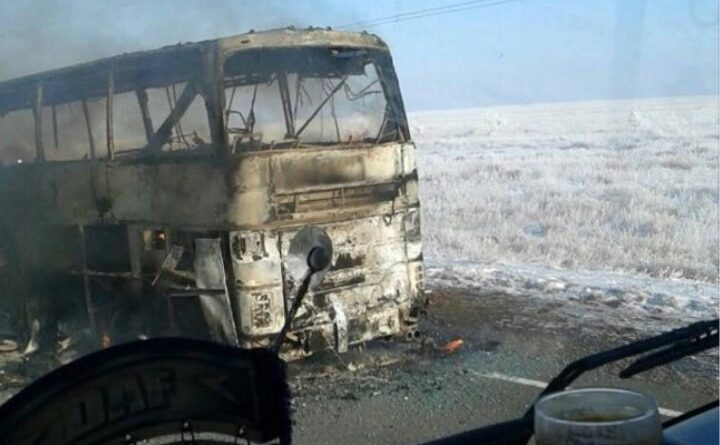 автобус Казахстан