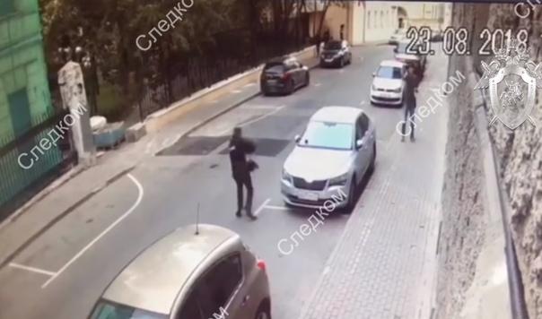 перестрелка в центре Москвы