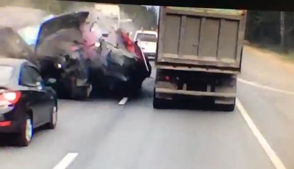 ДТП на Минском шоссе