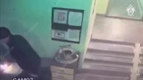 поджег консьержку