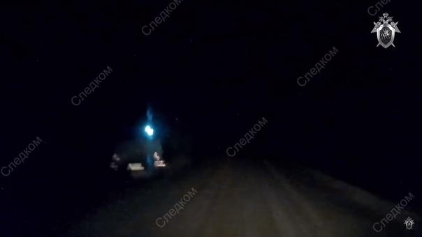 с налобным фонарем