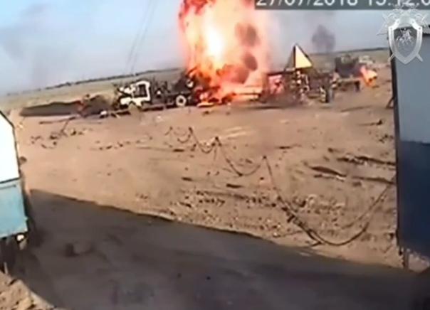 взрыв в Нефтекумске