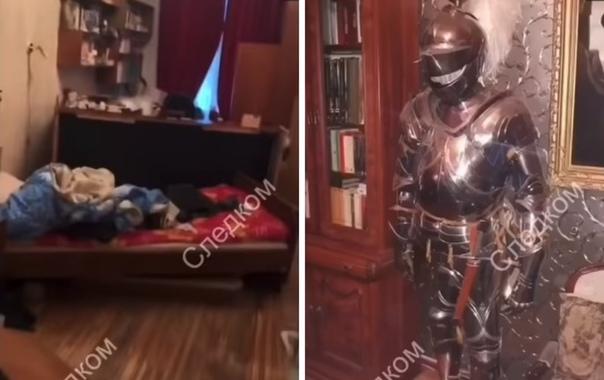 Опубликовано видео из квартиры доцента, убившего и расчленившего аспирантку в Санкт-Петербурге