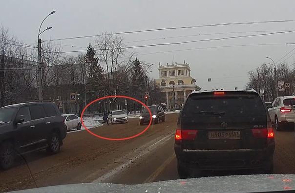 Toyota сбила мальчика в Иваново
