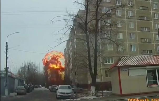 Опубликовано ВИДЕО взрыва подстанции в Подольске