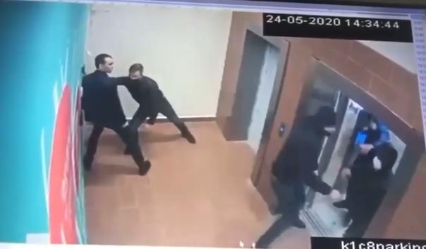 Перестрелка на Каширке в Москве: видео вооруженного конфликта и последующего задержания