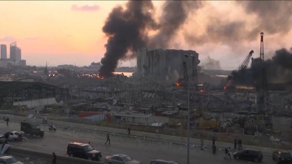 Апокалипсис в Бейруте. Самый мощный взрыв пиротехники за всю историю. Волна дошла до Кипра. ВИДЕО